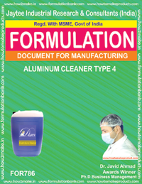 ALUMINIUM CLEANER TYPE 4 (FORMULA 786)
