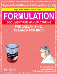 PRE GALVANISHING CLEANER FOR IRON (FORMULA 788)
