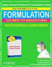 PAINTED SURFACE CLEANER (POWDER) (FORMULA 792)