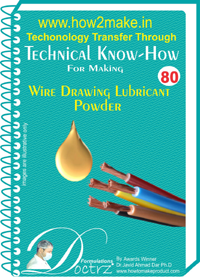 Technical knowHow report for wire drawing lubricating powder (TN