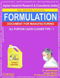 All Purpose House Hold cleaner TYPE 1 (Formulation 802)