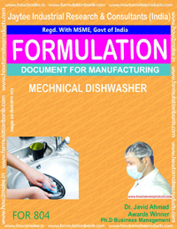 Mechanical Dishwasher Formulation (804)