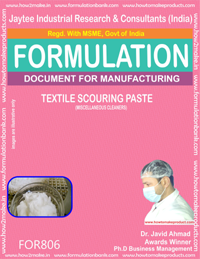 Textile Scouring Paste (Miscellaneous cleaner) (for806)