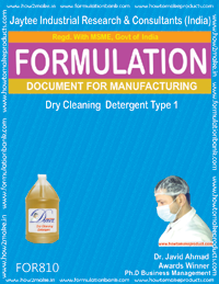 Dry Cleaning Liquid Detergent type 1 (for810)