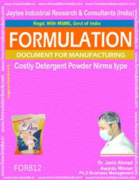 Costly Detergent Powder Formulation Nirma type (for812)
