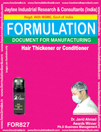 Hair Thickener or Conditioner Formulation (for827)