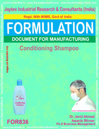 Formulation of Conditioning Shampoo (for836)