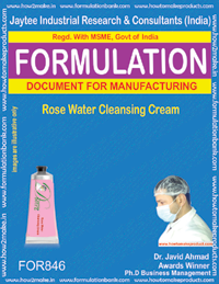 Rose Water Cleansing Cream (for846)