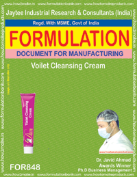 Violet Cleansing Cream Formulation (fo848)