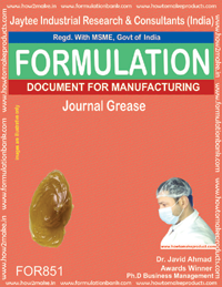 Journal Grease Making Formulation (851)