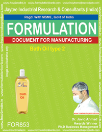 Bath Oil Formulation (For853)