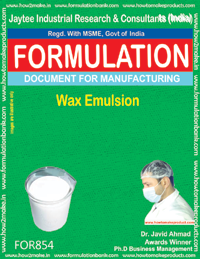 Wax Emulsion Formulation (For854)