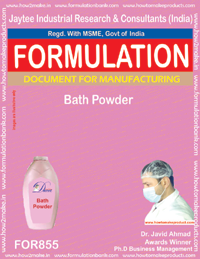 Bathing Powder Formulation (for855)