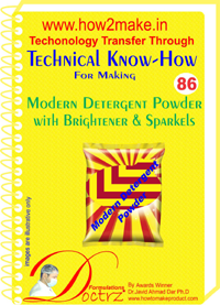 Technical knowHow report for making modern detergent (TNHR 86)