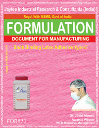 Book Binding Latex Adhesive Type 5 Formulation (for871)