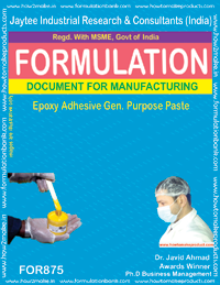 Epoxy Adhesive General Purpose Paste Formulation (for875)