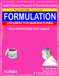 Epoxy Automobile Body Solder Compound (formulation 883)
