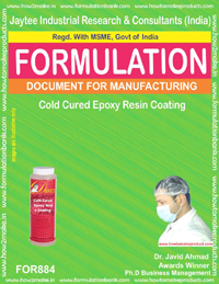 Cold Cured Epoxy Resin Coating Formulation (for884)