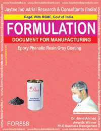 Epoxy Phenolic Resin Grey Coating Formulation (for 888)