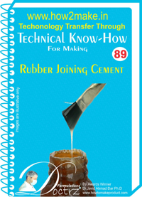 Technical knowHow report for making rubber joining cement (TNHR