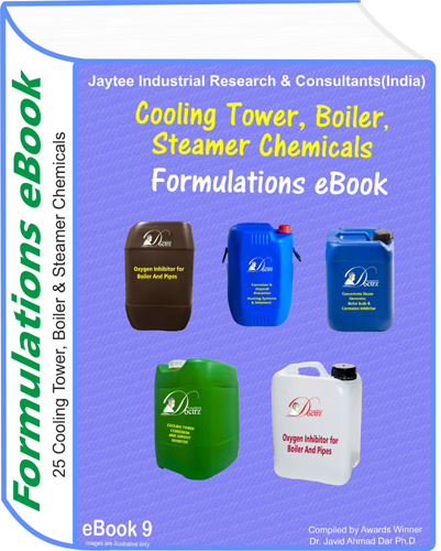 Cooling Tower, Boiler,Steamer Chemicals Formulations eBoook 9