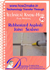 Technical knowHow report for making rubberised asphalt joint sea