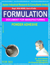 Powder Adhesive Formulation (for903)