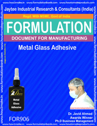 Metal Glass Adhesive Formulation (for906)