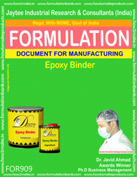 Epoxy Binder Formulation (for909)