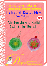 Technical knowHow report for air freshener round (TNHR 91)