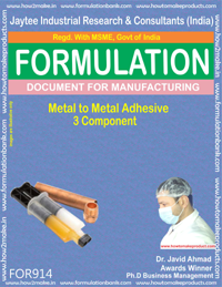 Metal to Metal Adhesive 3 component Formulation (for914)