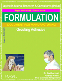 Grouting Adhesive Formulation (for915)
