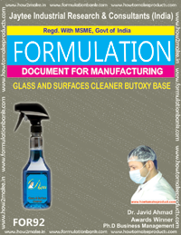Glass and Surface Cleaner Butoxy Base