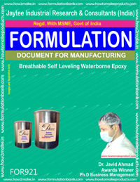 Breathable Self Levelling Waterborne Epoxy Formulation (for921)