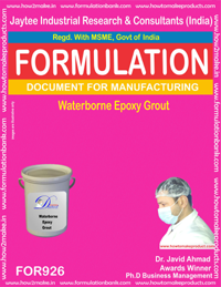 Waterborne Epoxy Grout Formulation (for926)