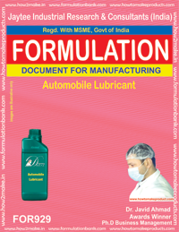 Automobile Lubricant Formulation (for929)