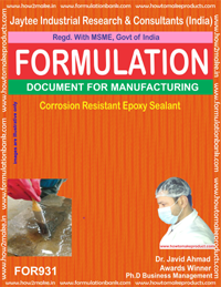 Corrosion Resistant Epoxy Sealant Formulation (for931)
