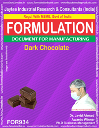 Dark Chocolate Formulation (for934)