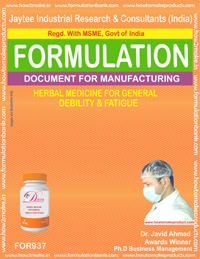 Herbal Medicine for Gen. Deability & Fatigue Formulation (for937