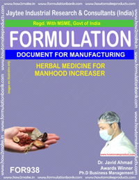 Herbal Medicine for Manhood Increaser Formulation (for938)