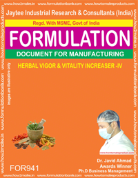 Vigor and Vitality Increaser - IV Formulation (for941)
