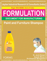 Paint & Furniture Shampoo (Formula 945)