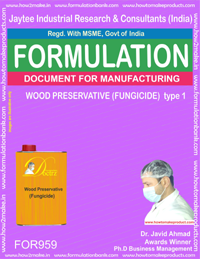 WOOD PRESERVATIVE (FUNGICIDE) type 1 (For958)