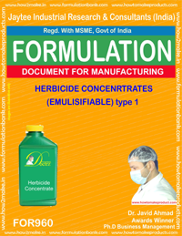 HERBICIDE CONCENTRATES (EMULISIFIABLE) type 1 (For960)