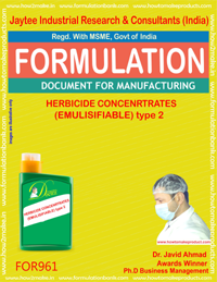 HERBICIDE CONCENTRATES (EMULISIFIABLE) type 2 (For961)