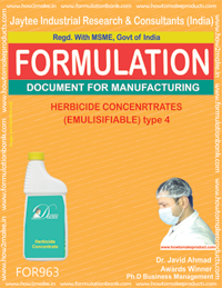 HERBICIDE CONCENTRATES (EMULISIFIABLE) type 4 (For963)