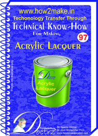 Technical knowHow report for acrylic lacquer(TNHR 97))