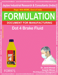Dot 4 Brake Fluid (For971)