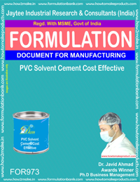 PVC Solvent Cement Cost effective (For973)