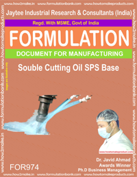 Soluble Cutting Oil SPS Base (For974)